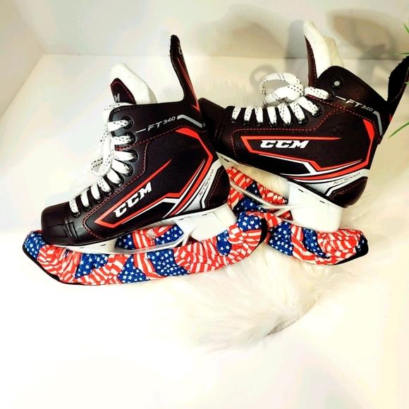 CCM Jetspeed FT340 Youth Ice Hockey Skates